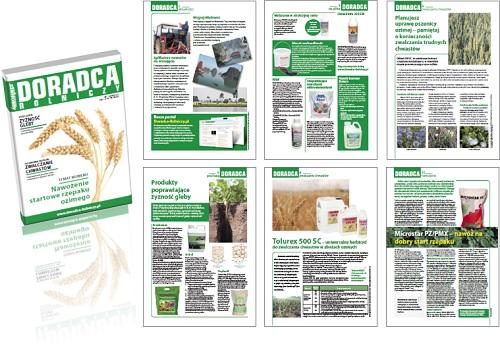 Doradca Rolniczy 1.2012 okładka i strony