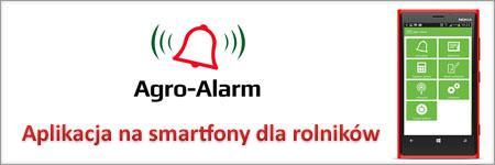 Agro-Alarm. Aplikacja na smartfony dla rolników.