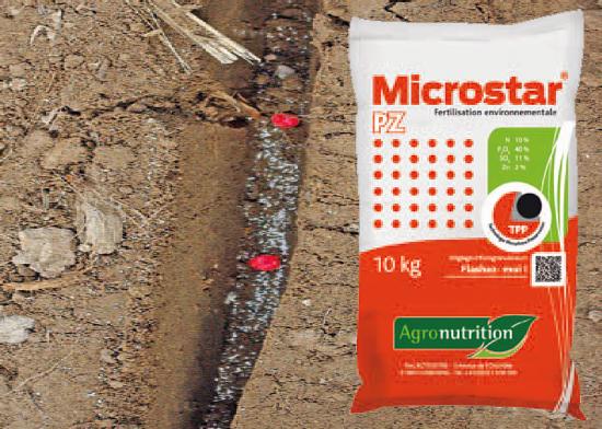 Siew z mikrogranulatem / Microstar PZ