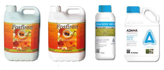 Fosfiron Cu / Fosfiron Mg / Orius Extra / Bumper 250 EC 250 EW